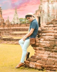 Red Diaz | Wat Chaiwatthanaram, Ayutthaya, Thailand