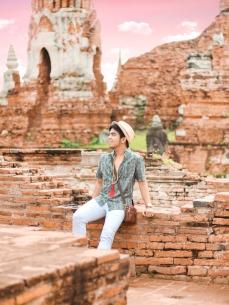 Red Diaz | Wat Mahathat, Ayutthaya, Thailand